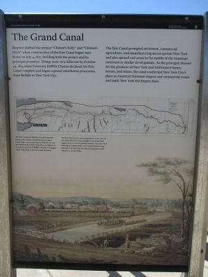 The Grand Canal Marker image. Click for full size.