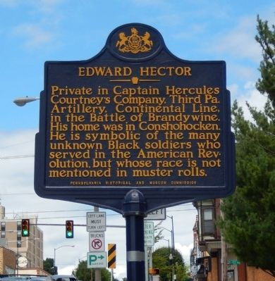 Edward Hector Marker image. Click for full size.