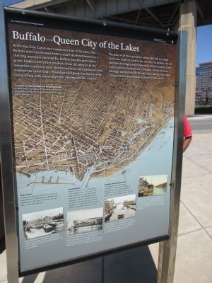 Buffalo - Queen City of the Lakes Marker image. Click for full size.