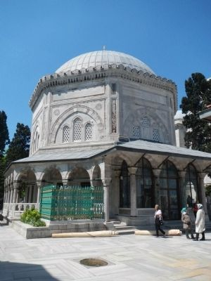 The Tomb of Suleiman the Magnificent image. Click for full size.