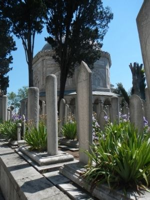 Suleymaniye Mosque and Social Complex, Cemetery image. Click for full size.