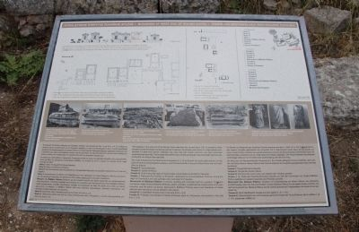 Buildings at the West End of Roman Agora Marker image. Click for full size.