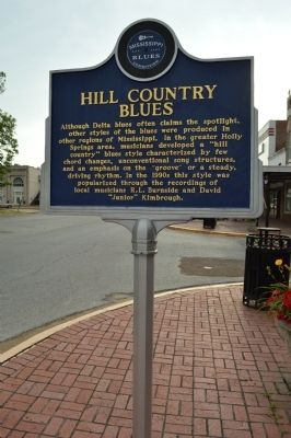 Hill Country Blues Marker image. Click for full size.