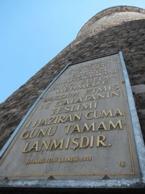 Galata Tower Marker image. Click for full size.