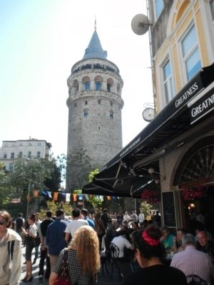 Galata Tower image. Click for full size.