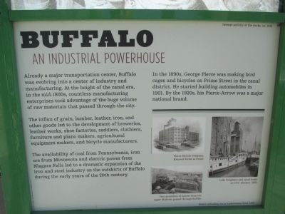 Buffalo - An Industrial Powerhouse Marker image. Click for full size.