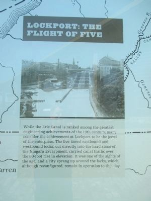 Lockport: The Flight of Five image. Click for full size.