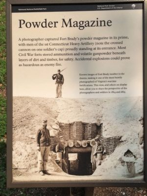 Powder Magazine Marker image. Click for full size.