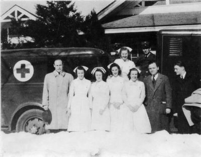 Charles R. Drew<br>Bloodmobile image. Click for full size.