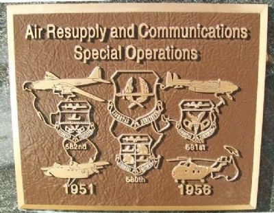 Air Resupply and Communications Special Operations Marker image. Click for full size.