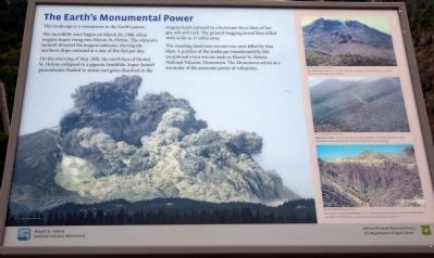 The Earth's Monumental Power Marker image. Click for full size.