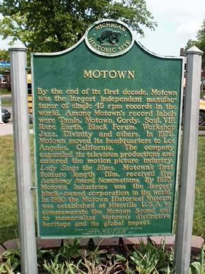 Motown Marker image. Click for full size.