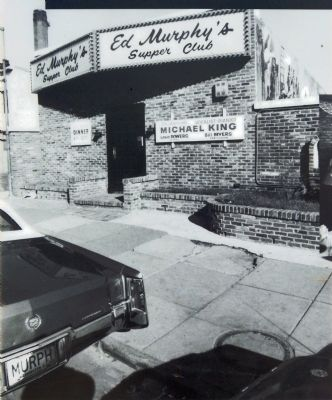 Original Ed Murphy's Supper Club image. Click for full size.