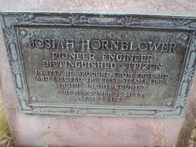 Josiah Hornblower Marker image. Click for full size.