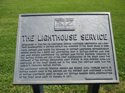 The Lighthouse Service Marker image. Click for full size.