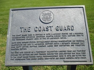 The Coast Guard Marker image. Click for full size.