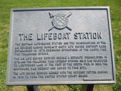 The Lifeboat Station Marker image. Click for full size.