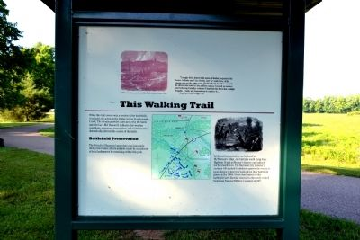 This Walking Trail Marker image. Click for full size.