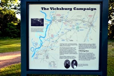 The Vicksburg Campaign Marker image. Click for full size.