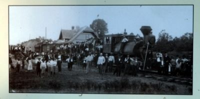 Natchez Railroad Station in the Early 20th Century image. Click for full size.