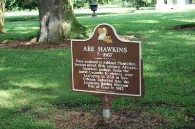 Abe Hawkins Marker image. Click for full size.