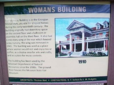 Womans Building Marker image. Click for full size.