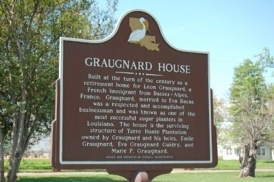 Graugnard House Marker image. Click for full size.