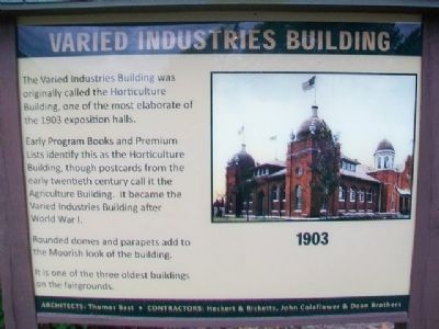 Varied Industries Building Marker image. Click for full size.