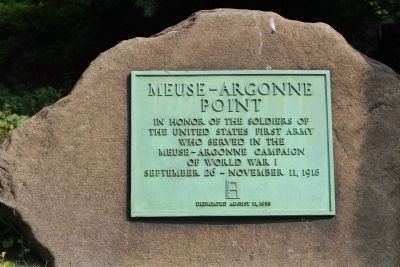 Meuse-Argonne Point Marker image. Click for full size.
