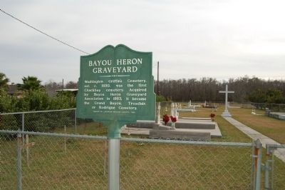 Bayou Heron Graveyard image, Touch for more information