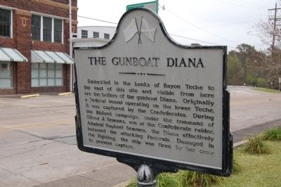 The Gunboat Diana Marker image. Click for full size.