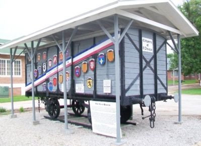 The Merci Boxcar and Markers image. Click for full size.