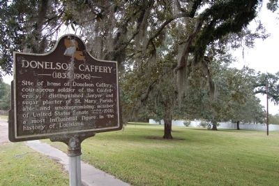 Donelson Caffery Marker image. Click for full size.
