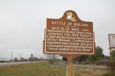 Battle Of Bisland Marker image. Click for full size.