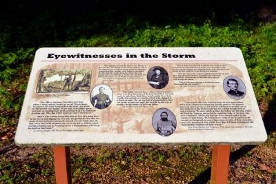 Eyewitnesses in the Storm Marker image. Click for full size.