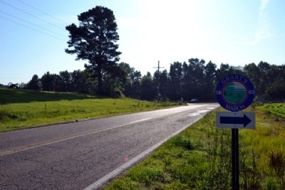 View to East Along Old Port Gibson Road image. Click for full size.