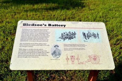 Bledsoe's Battery Marker image. Click for full size.