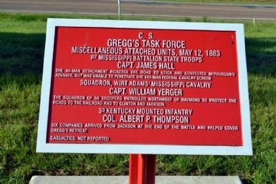 C.S. Gregg's Task Force Marker image. Click for full size.