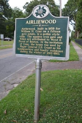 Airliewood Marker image. Click for full size.