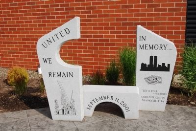 Erie 9-11 Memorial image. Click for full size.