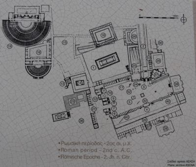 Archaeological Site of Ancient Corinth Marker image. Click for full size.