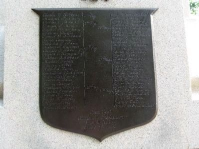 North Face Bronze Plaque image. Click for full size.