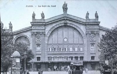 <i>Paris - La Gare du Nord</i> image. Click for full size.