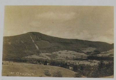 Cleared Forests on Mount Greylock - 1910 Postcard image. Click for full size.