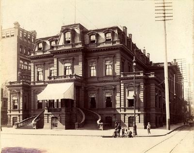 Union League of Philadelphia ~ Late 1800's image. Click for full size.