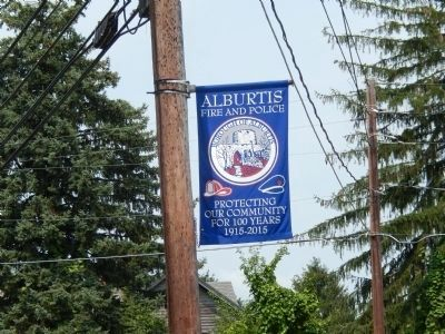 Alburtis Fire and Police Banner image. Click for full size.