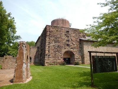 Lock Ridge Iron Furnace Museum image. Click for full size.