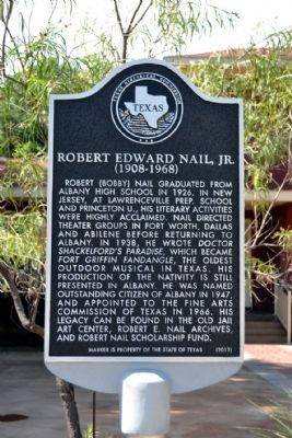 Robert Edward Nail, Jr. Marker image. Click for full size.