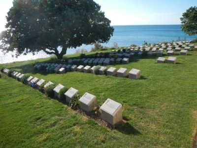 Beach Cemetery image. Click for full size.
