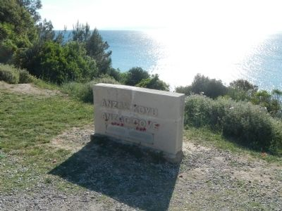 Anzac Cove image. Click for full size.